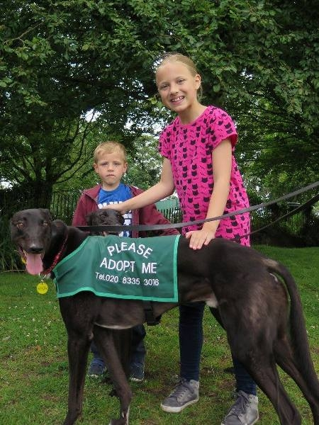 Paddy with children for website